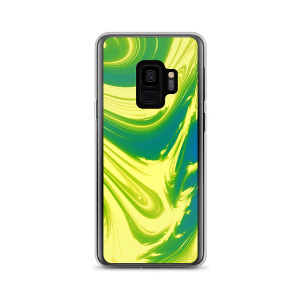 Lemon Lime Lava Trippy Phone Case (Samsung) - Samsung Galaxy S9 - Samsung Case