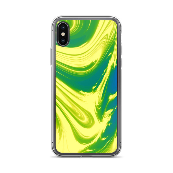 Lemon Lime Lava Trippy Phone Case (Iphone) - Iphone X/xs - Iphone Case