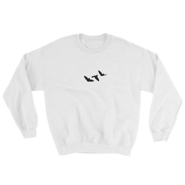 Little Bats Unisex Sweatshirt - White / S - Sweatshirt