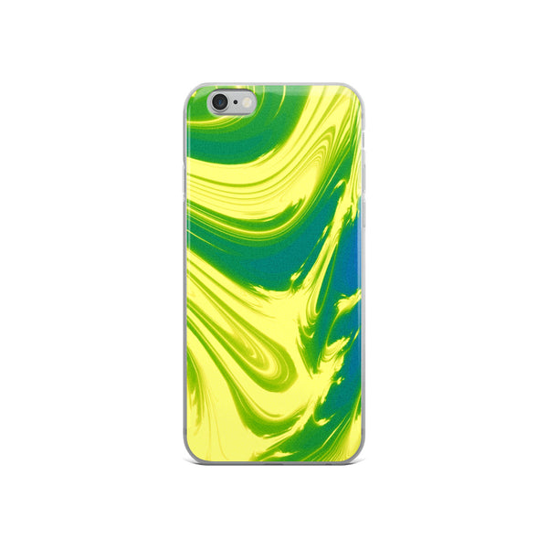Lemon Lime Lava Trippy Phone Case (Iphone) - Iphone 6/6S - Iphone Case