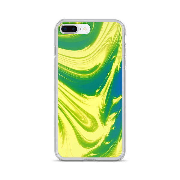 Lemon Lime Lava Trippy Phone Case (Iphone) - Iphone 7 Plus/8 Plus - Iphone Case