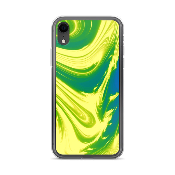 Lemon Lime Lava Trippy Phone Case (Iphone) - Iphone Xr - Iphone Case