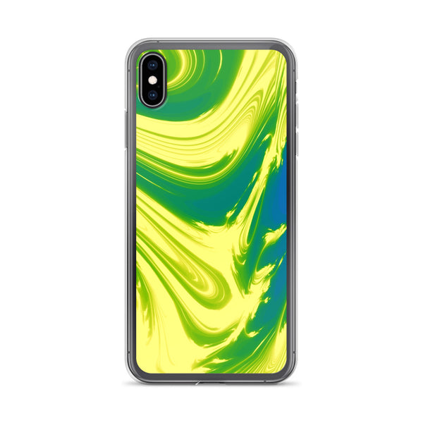 Lemon Lime Lava Trippy Phone Case (Iphone) - Iphone Xs Max - Iphone Case