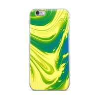 Lemon Lime Lava Trippy Phone Case (Iphone) - Iphone 6 Plus/6S Plu - Iphone Case