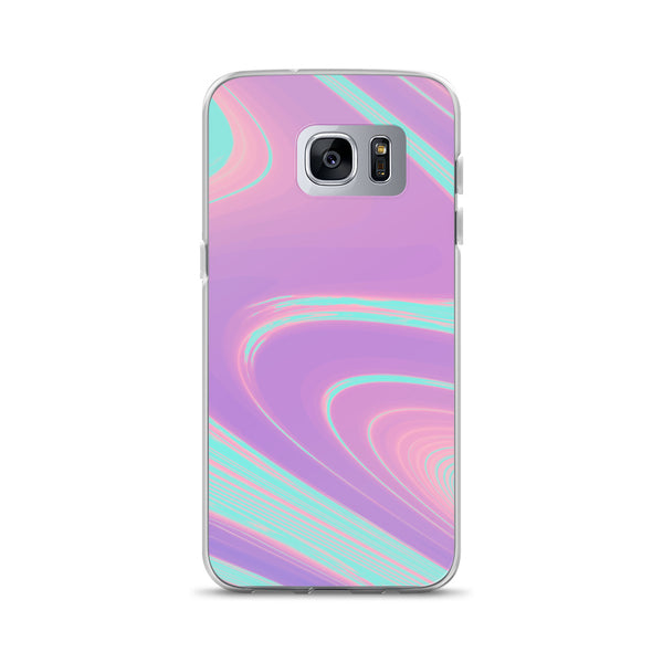 Cotton Candy Clouds Trippy Phone Case (Samsung) - Samsung Galaxy S7 Ed - Samsung Case
