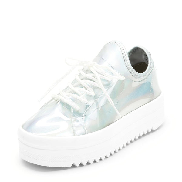 pastel holographic ultra platform sneakers - Holographic / 6 - Womens Sneakers