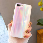 Pastel Holographic Rainbow Phone Case (Iphone) - For Iphone 6Plus 6Sp - Iphone Case