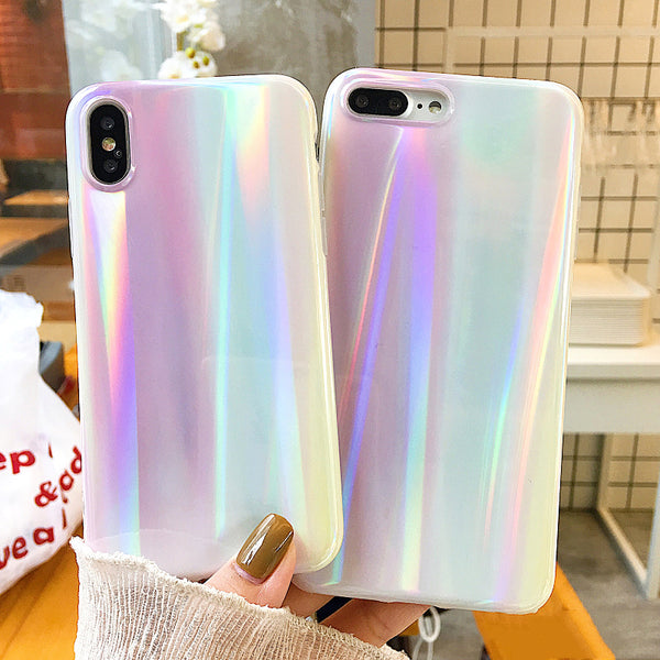 Pastel Holographic Rainbow Phone Case (Iphone) - Iphone Case