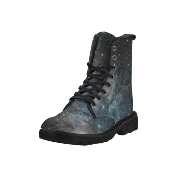 Supernova Remnant Hbh3 Mens Lace-Up Combat Boots - Boots