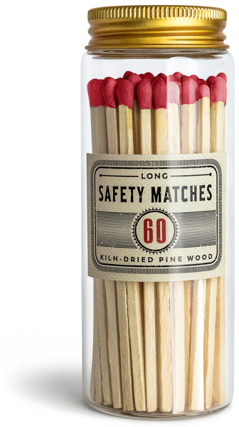 Long Matches for Candles | Set of 60 Matchsticks