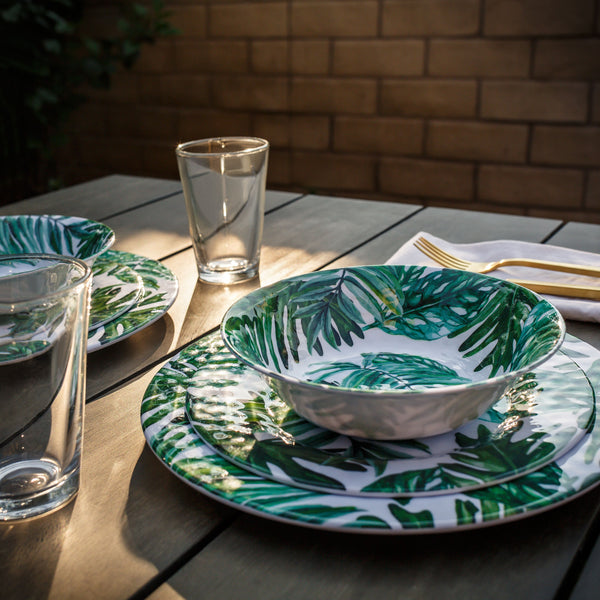 California Palm Dinnerware Set