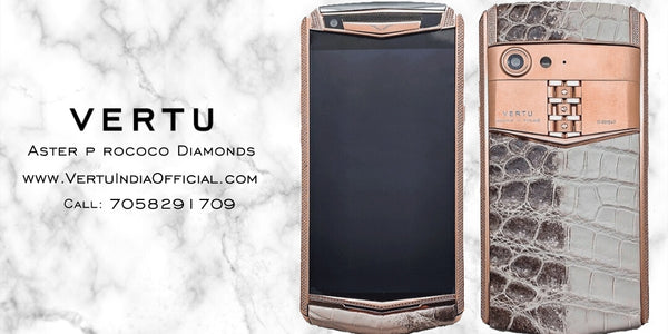 *NEW LAUNCH ALERT* VERTU ASTER P ROCOCO DIAMONDS 6GB + 256 GB AVAILABLE NOW