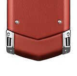 Vertu Signature Keypad Pure Silver Red Leather Luxury Mobile Phone