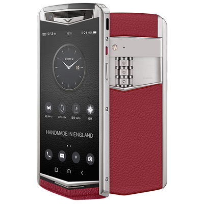 Vertu Aster P red mobile phone