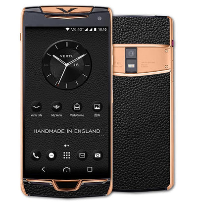 Vertu Constellation black rose gold in india