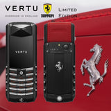Vertu Ferrari Edition Keypad Buttons Mobile Phone