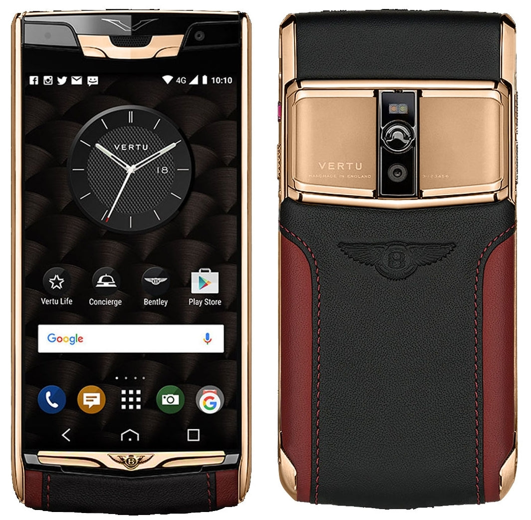 Genuine Vertu Signature S Black PVD Flagship Phone Most sought ... | 1042x1064