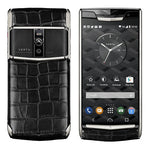 Vertu Signature Touch Jet Alligator Black Luxury Mobile Phone | 4GB RAM + 64GB Storage