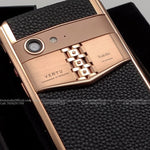 Vertu Aster P Red Gold Customised Mobile Phone with your NAME PRINT *Made To Order*