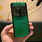 Vertu Aster P Made To Order Green Leather | 6GB RAM + 256GB Storage