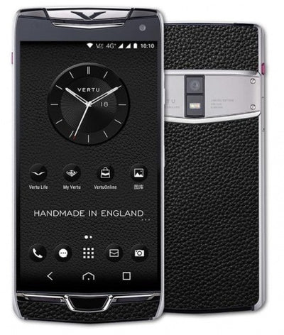 vertu constellation black steel price in india