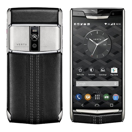 Vertu Signature Touch Jet Calf Black | 4GB RAM + 64GB Storage