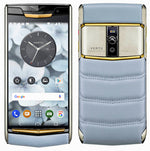 Vertu Signature Touch Sky Blue Red Gold Luxury Mobile Phone | 4GB RAM + 64GB Storage