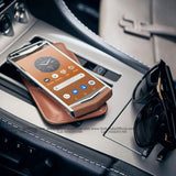 Vertu Aster P Caramel Brown Android Luxury Mobile Phone | 6GB RAM + 256GB Storage