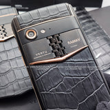 Vertu Aster P Customised Mobile Phone with your NAME PRINT 'Made To Order'