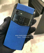 Vertu Aster P Made To Order in Black Body Blue Leather | 6GB RAM + 256GB Storage