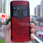 Vertu Aster P 'Made To Order in Dark' Red Leather | 6GB RAM + 256GB Storage