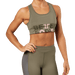 Bowery Sports Bra - Washed Green