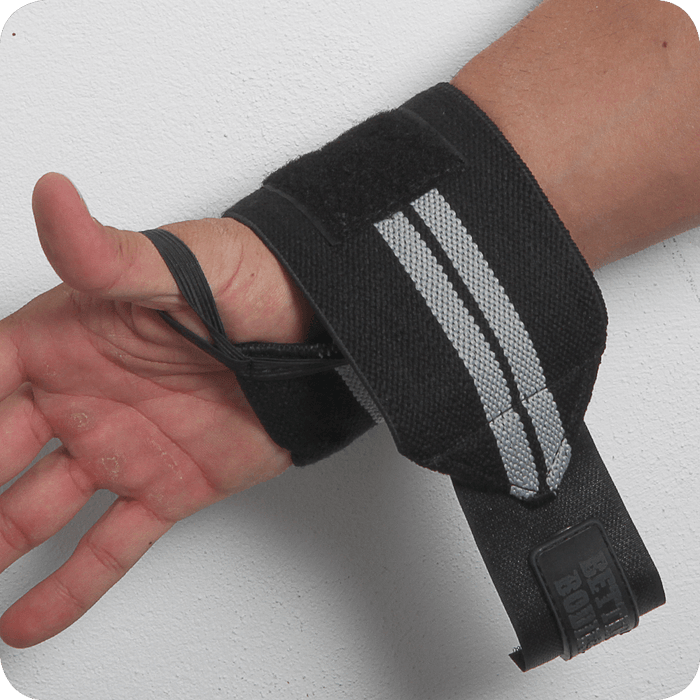 Elastic Wrist Wraps - Black