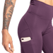 High Waist Leggings - Royal Purple
