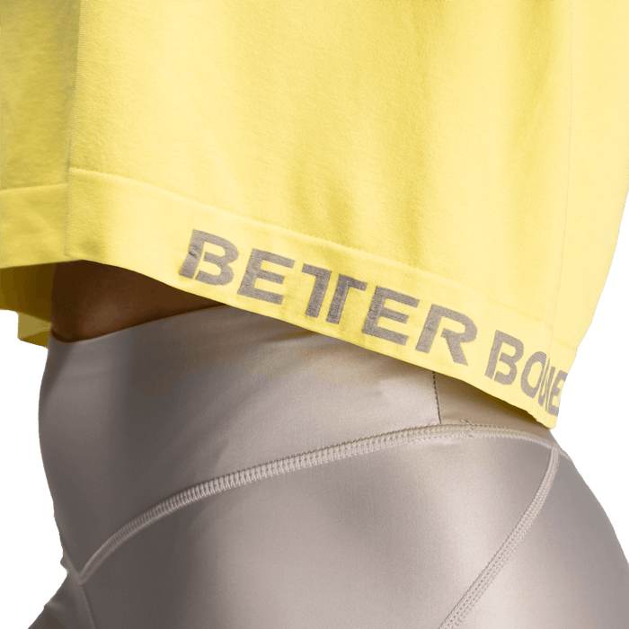 Rockaway Seamless Tee - Lemon Yellow