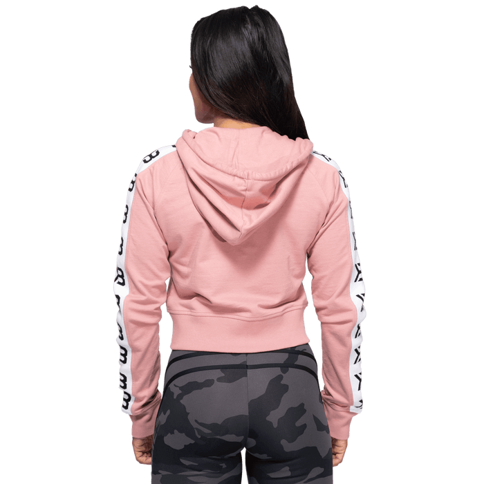 Vesey Cropped Hood - Heather Pink