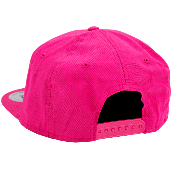 Womens Flatbill Cap - Hot Pink