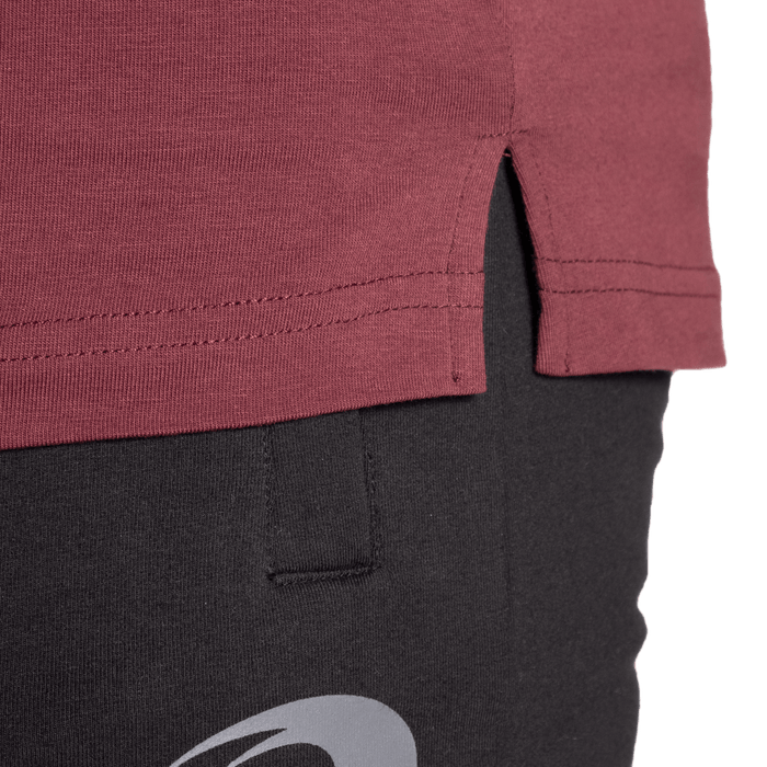Classic Tapered Tee - Maroon