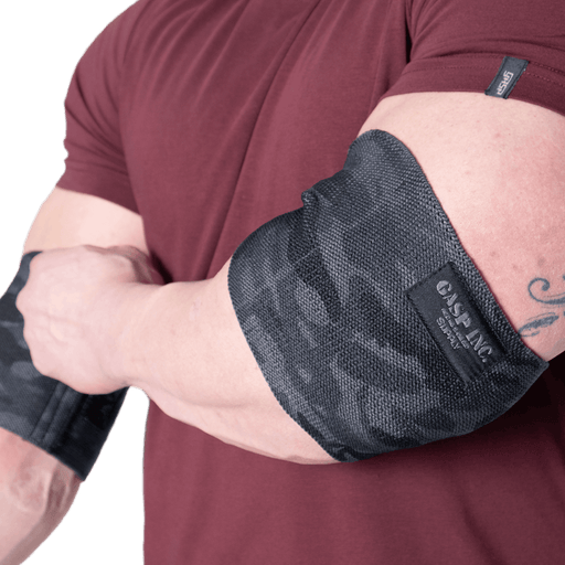 Heavy Duty Elbow Sleeves - Dark Camo
