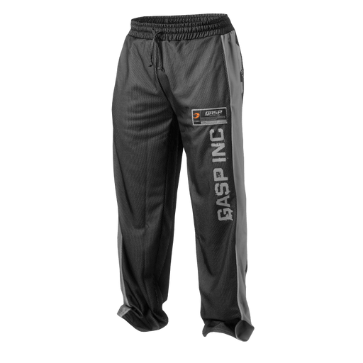 No1 Mesh Pant - Black/Grey