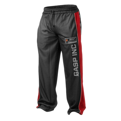 No1 Mesh Pant - Black/Red
