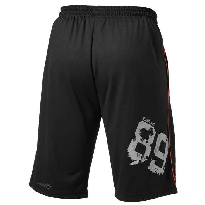 No89 Mesh Shorts - Black