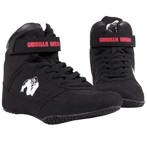 Gorilla Wear High Tops - Black