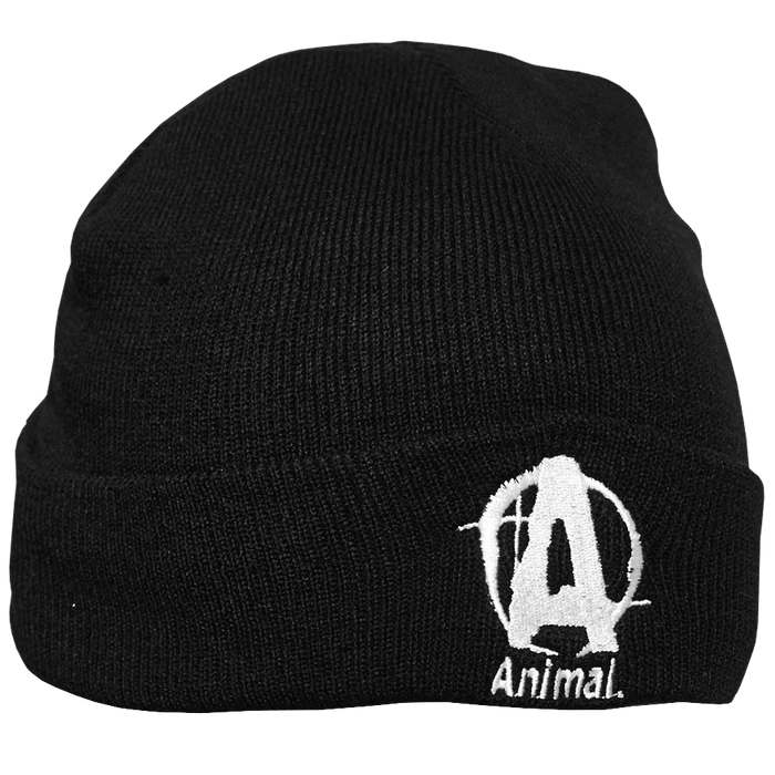 Animal Cap Beanie - Black