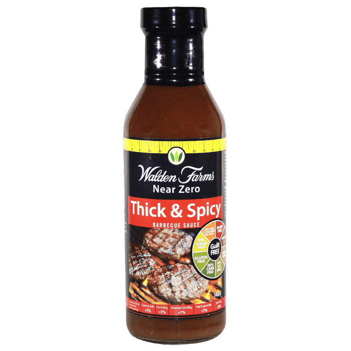 Thick & Spicy Barbecue Sauce – 340g.