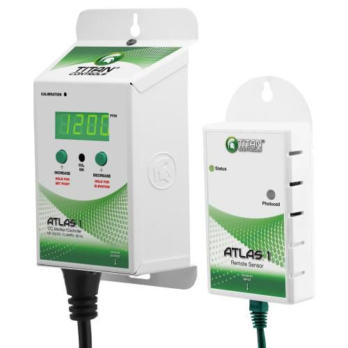 Grow Kings - Titan Controls® Atlas® 1 - CO2 Monitor/Controller with Remote Sensor