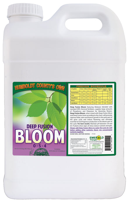 Emerald Triangle Deep Fusion Bloom 0 - 5 - 4