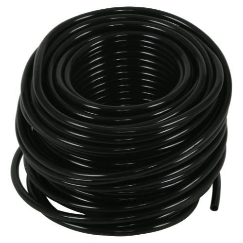Grow Kings - Hydro Flow® Premium Vinyl Tubing - Black 100 ft Roll - 3/16 in ID - 1/4 in OD