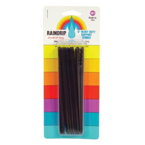 Grow Kings - Raindrip® Support Stakes Blister Card (10/Pack) - 6 in