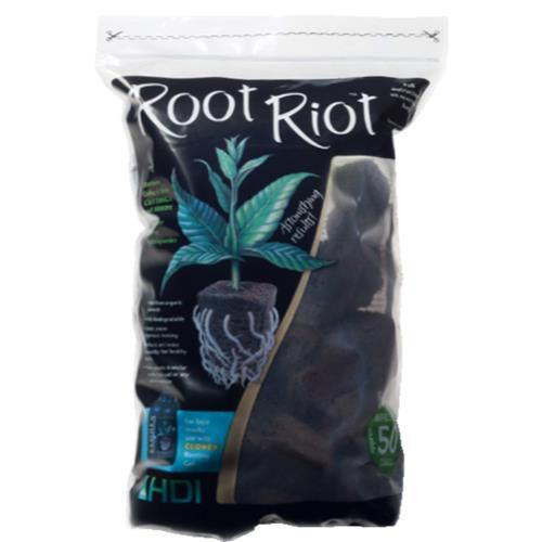 Grow Kings - HDI Root Riot™ Replacement Cubes - 50 Count